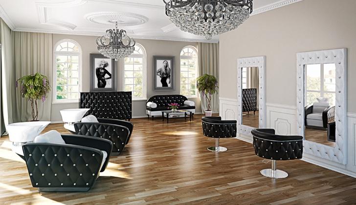 Salon Fryzjerski W Stylu Glamour Jak Urzadzic Perfect Studio